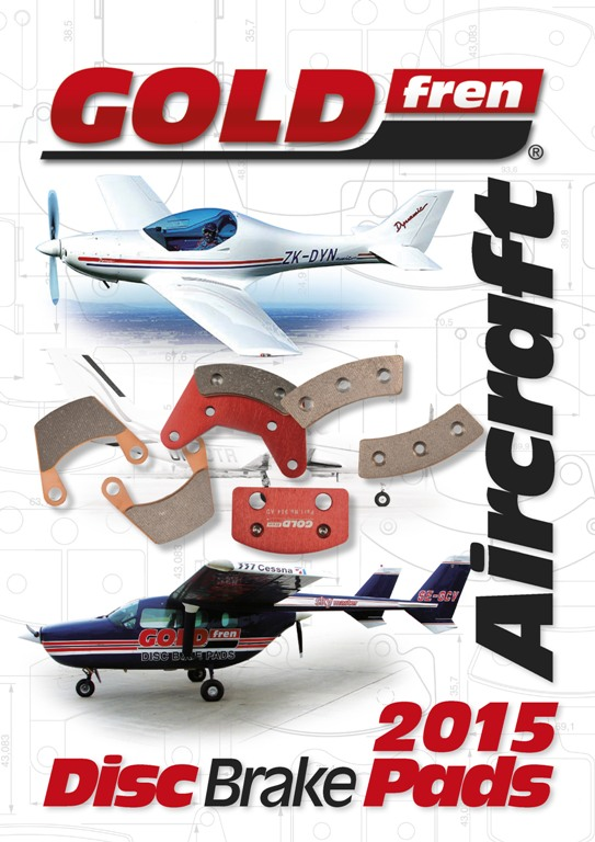 GOLDfren Small Aircraft Brake pads and Disc