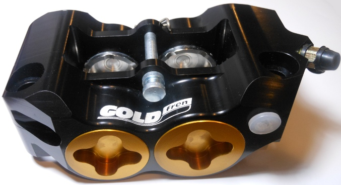 GOLDfren Radial four-piston brake caliper MONOBLOCK